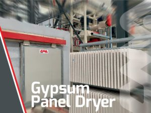 Gypsum panels dryer completed in Algeria